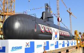 """""""安武""""號潛艇。(圖源:韓國海軍)"""