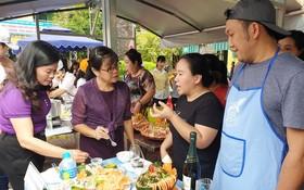 第五郡勞動聯團舉辦教師節烹飪比賽。
