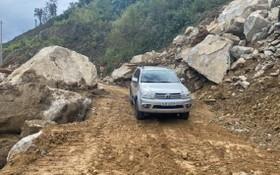 遭泥石流的東長山路日前已恢復通車。(圖源:陲玲)