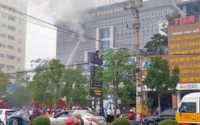 消防隊聞訊後趕抵現場展開滅火和營救行動。(圖源:TTO)