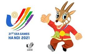 圖為第三十一屆東運會會徽及吉祥物。(圖源:體育總局)