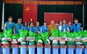 各華人單位捐助中部災區同胞
