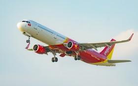 越捷航空加強開發運輸勞務。