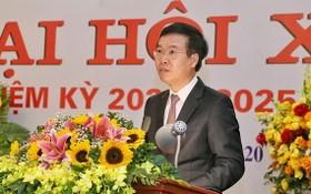 中央宣教部長武文賞在大會上致詞。(圖源:光榮)