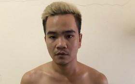 被抓獲的嫌犯阮進孟。(圖源:警方提供)