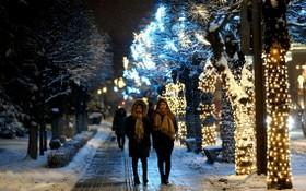 德國不萊梅聖誕裝飾美輪美奐。(圖源:Getty Images)