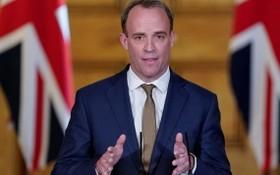 英國外交大臣拉布。(圖源:路透社)