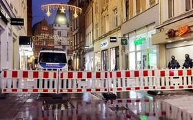 特里爾市中心仍處於封鎖狀態。(圖源:互聯網)