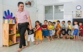 當男教師負責教導學生