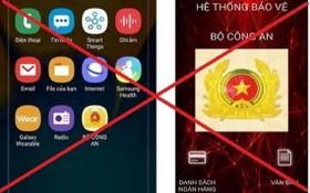 """冒充""""公安部""""的手機應用程式,以欺騙侵吞用戶財產。(圖源:線潘)"""