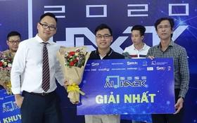 bSmart項目贏得AI Hack 2020總決賽冠軍。(圖源:淮兒)
