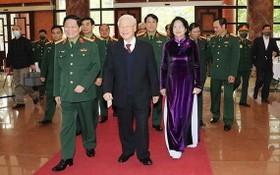 總書記、國家主席阮富仲出席會議。(圖源:元海)