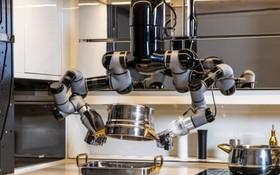 機械人廚房可細緻重現人手動作。(圖源:互聯網)