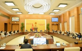 國會常務委員會第51次會議場景。(圖源:寶燕)