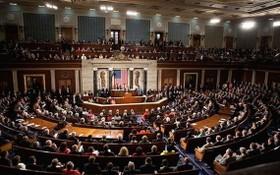 美國國會參議院議會現場。(圖源:路透社)