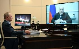 """俄羅斯總統新聞秘書德米特里‧佩斯科夫13日對外表示:""""普京一直生活在新奧加廖沃(總統官邸),疫情暴發前就已在那裡生活工作。""""。(圖源:互聯網)"""