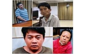 被抓獲的四名販毒嫌犯。(圖源:警方提供)