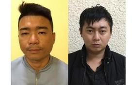 偷拍勒索的兩名歹徒被捕。左圖為朱名江;右圖為阮仲就。(圖源:警方提供)