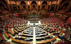 圖為意大利國家眾議院議事主會場。(圖源:互聯網)