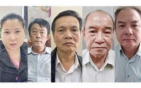 被追訴的5名嫌犯。(圖源:VTC)