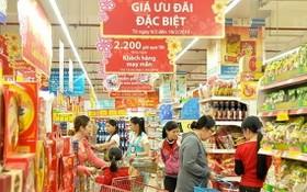 本市多家超市展開促銷活動。