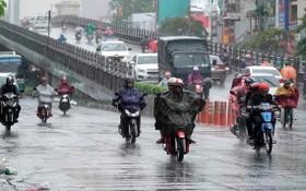 國家水文氣象預報中心:自昨日下午起至今(23)日,南部區域多雲,降中至大雨,若干地方降雷陣雨。(示意圖源:獨立)