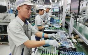 VNPT集團所屬成員公司VNPT Technology 的智能移動設備生產線。
