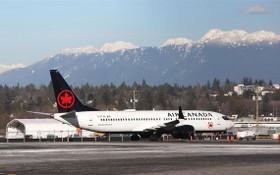 圖為加拿大航空737 Max 8 同型機。(圖源:路透社)