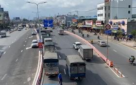 本市-沐牌高速公路有助緩解22號國道的交通壓力。