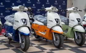 圖為 Peugeot Django高檔摩托車。(圖源:互聯網)