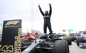 F1車手漢密爾頓。(圖源:互聯網)