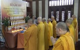 慶安修院為廣治與承天-順化殉職戰士舉辦的超度儀式現場。(圖源:芳南)