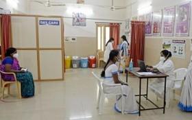 印度在全國范圍內進行新冠疫苗接種演習。 (圖源:AFP)