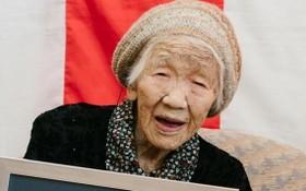 """""""全球在世最長壽女性""""的日本老人田中力子2日迎來118歲生日。(圖源:互聯網)"""