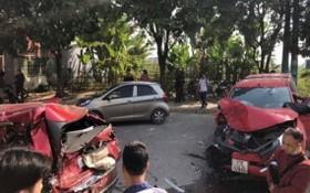 圖為1月1日發生在富壽省的一起交通事故,造成一人當場死亡。(圖源:春馨)