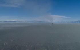 中亞國家吉爾吉斯斯坦首都比什凱克名列全球空氣污染最嚴重城市之首。(圖源:互聯網)
