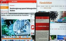 新冠疫情推動德國數字支付發展。(圖源:DPA)