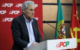 熱羅尼莫‧德索薩同志蟬聯葡萄牙共產黨總書記。(圖源:越通社)