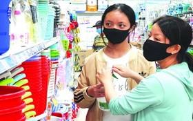 市民在超市購物。(圖源:互聯網)