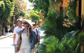 廣南省會安市以獨特的旅遊產品吸引不少遊客。