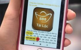 騙局透過 tailoc888手機應用程式引誘用戶下載安裝後行騙。(圖源:田升)