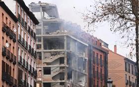 爆炸現場。(圖源:AFP)