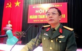 國防部第四軍區副司令黎必勝大校。(圖源:第四軍區報)