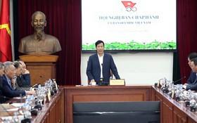 越南文體與旅遊部長阮玉善在會上發表講話。(圖源:互聯網)