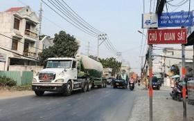 因加強巡邏檢查以及安裝監控攝像系統,阮唯貞街的交通事故已大減。
