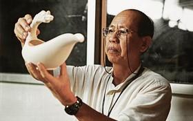 人民藝人李玉明逾50年醉心於陶瓷品創作。
