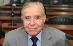 阿根廷前總統卡洛斯‧梅内姆生前照。(圖源:Getty Images)