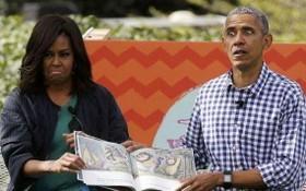 奧巴馬夫婦轉型拍片,擬拍多部大片,涉靈異劇及恐怖劇。(圖源:Getty Images)