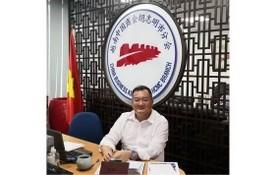 越南中商會胡志明市分會會長趙騫。