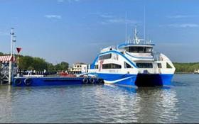 日前投入運營的芹耶-頭頓市海上渡輪。